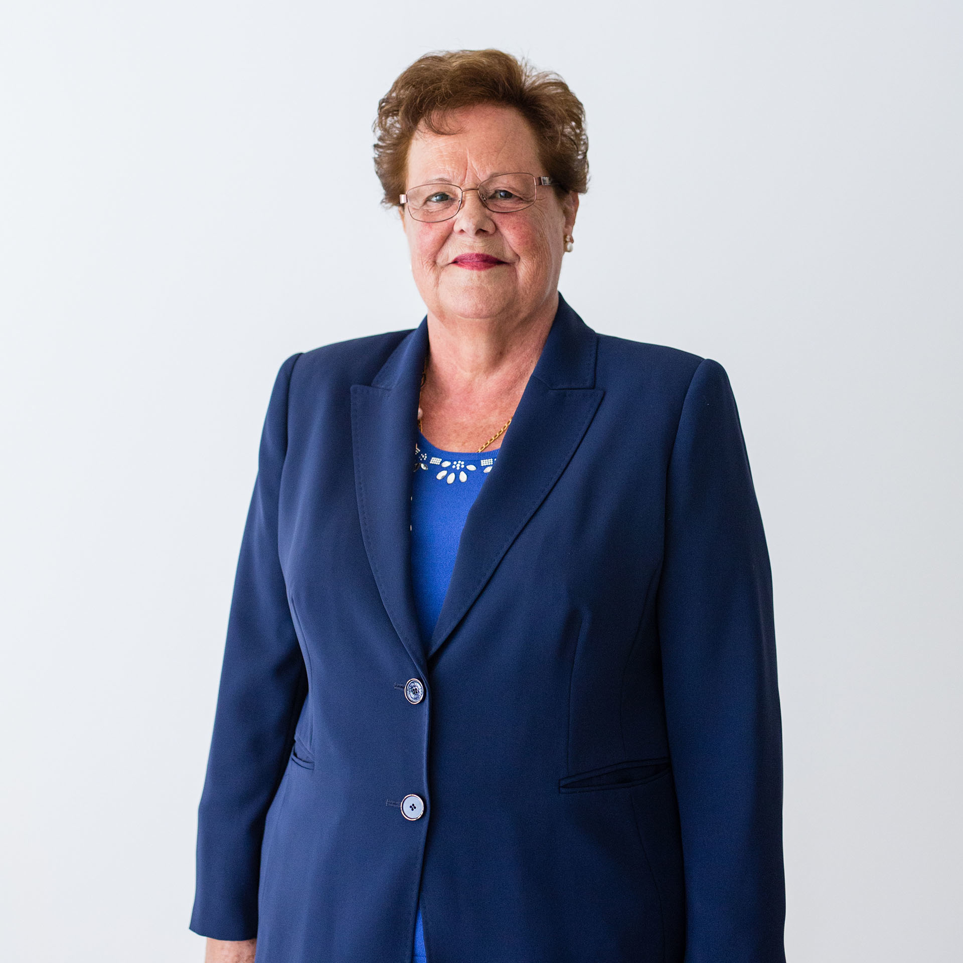Candelaria Fuentes - Presidenta de honor